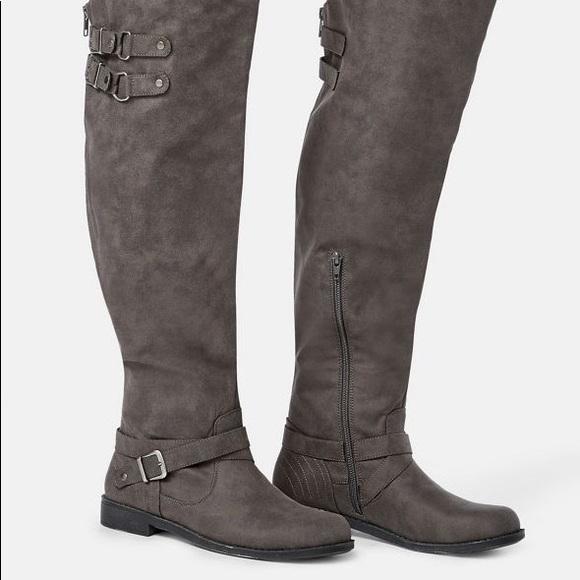 Brand New JustFab Carmona Knee High Boots